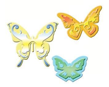 Spellbinders - Die - Shapeabilities - Butterflies Two