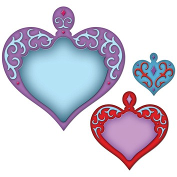 Spellbinders - Die - Shapeabilities - Nested Hearts