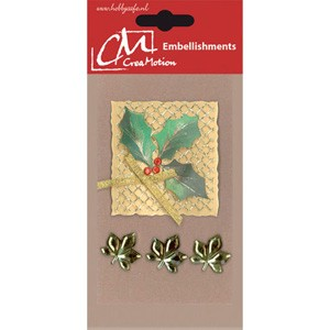 CreaMotion - Embellishment - Kerst hulst - BST180799
