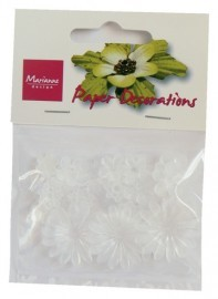 Marianne Design - Paper Decorations: Frosted 1 - PAP0505