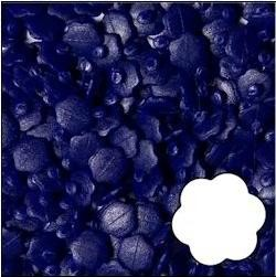 Nellie Snellen - Magic Dots - Flower: Kerstblauw - MDF017