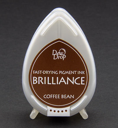 Tsukineko - Inkt - Brilliance - Stempelkussen: Coffee Bean - BD-54