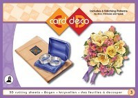 Card Deco - 3D cutting sheets - Boekje no. 03