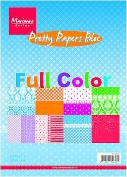 Marianne Design - Paperpack - Pretty Papers - Full Color - PK9071
