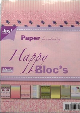 Joy! crafts - Paperpack - Happy Bloc`s - 6011/0008
