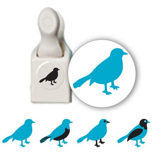Martha Stewart - Stamp & Punch - Bird - 42-25011