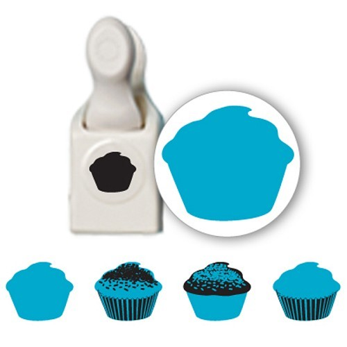 Martha Stewart - Stamp & Punch - Cupcake - 42-25007