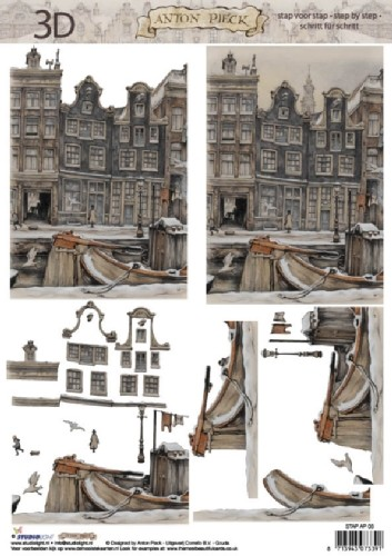 Studio Light - 3D-knipvel A4 - Anton Pieck - STAP AP 03