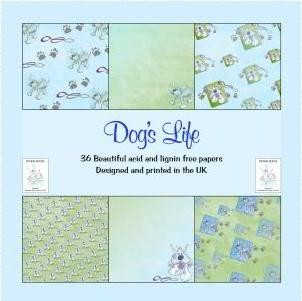 Design House - Paperpack - Dog`s life - 1603