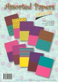 Creative - Paperpack - Assorted Papers - 91685/4