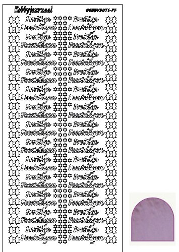 Hobbyjournaal - Stickervel - Hobbydots - Serie PF - Mirror: Candy - STDMPF03