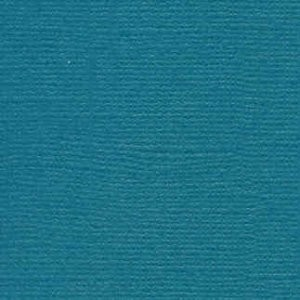 CreaMotion - Bazix - Linnenkarton - 135 x 270mm: Teal - 9307
