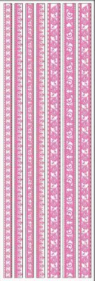 Joy! crafts - Sticky Ribbon - Velvet: roze - 6013/1136