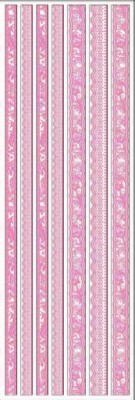 Joy! crafts - Sticky Ribbon - Velvet: roze - 6013/1137