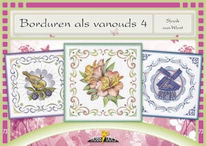 Card Deco - Hobbydols - No. 73 - Borduren als vanouds 4