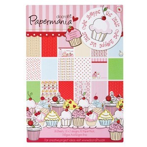 Papermania - Paperpack - The litte cake shoppe - PMA160107