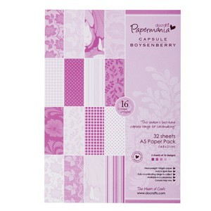 Papermania - Paperpack - Boysenberry - PMA1607402