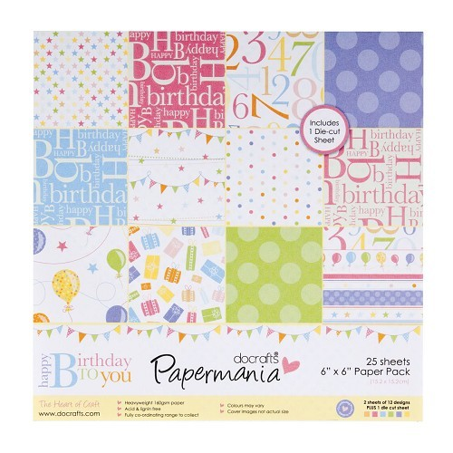 Papermania - Paperpack - Happy Birthday - PMA160112