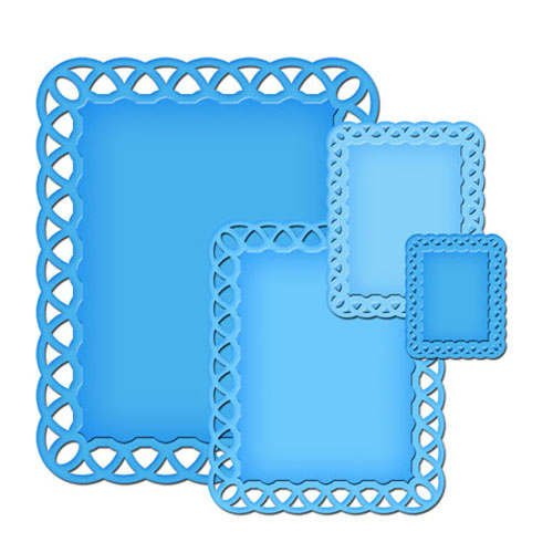 Spellbinders - Die - Nestabilities - Lattice Rectangles