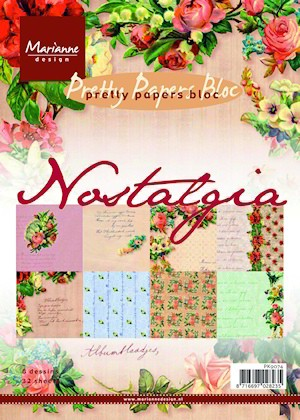 Marianne Design - Paperpack - Pretty Papers - Nostalgia - PK9074