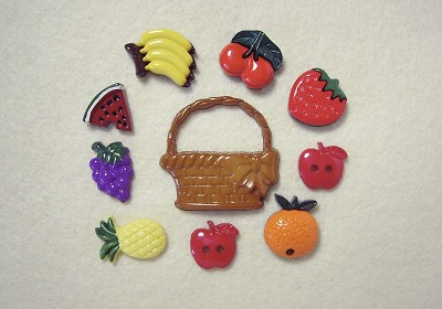 Hoca - Knopen - Favorite Findings - Fruit basket - 221