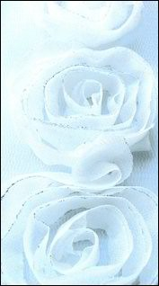 Marianne Design - Flower Ribbons: Off white large - FR1112