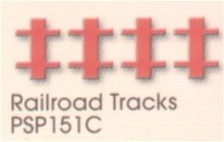 EK Success - Figuurpons - Railroad Tracks - PSP151C