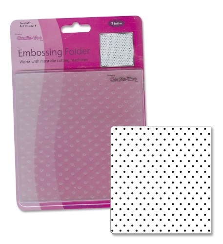 Crafts-Too - Embossingfolder - Dots - CTFD3014