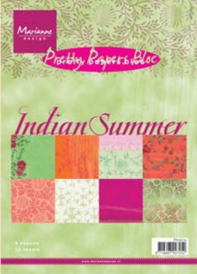 Marianne Design - Paperpack - Pretty Papers - Indian Summer