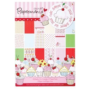 Papermania - Paperpack - The litte cake shoppe - PMA160106