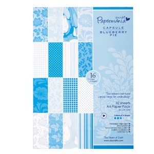 Papermania - Paperpack - Blueberry Pie - PMA1607404