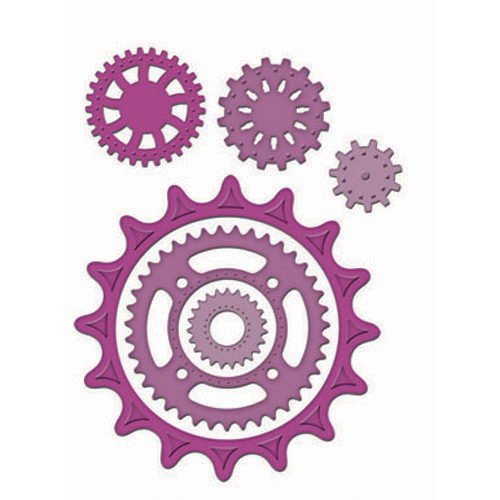 Spellbinders - Die - Shapeabilities - Sprightly Sprockets