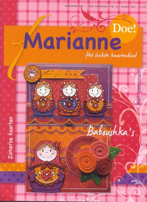Marianne Design - Marianne Doe - Magazine No. 10 - DOE10