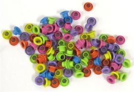 Rayher - Eyelets -  4mm: Assorti - 78 300 49