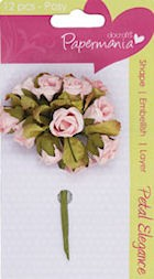 Papermania - Paper Posy: Pale pink - PMA368303