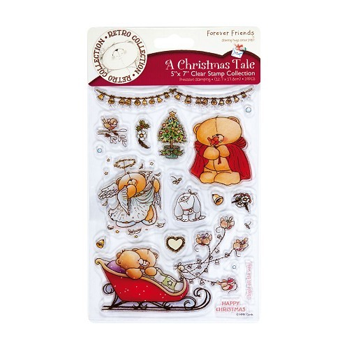 Forever Friends - Clearstamp - A Christmas Tale - Christmas Bells - FFS907109