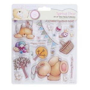 Forever Friends - Clearstamp - Spring Time - Easter Egg Hunt - FFS907200