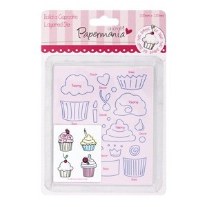 Papermania - Die - Build a cupcake - PMA 503100