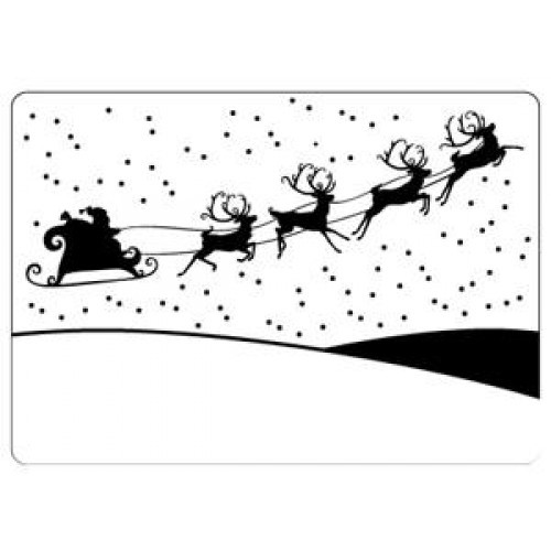 Crafts-Too - Embossingfolder - Sleigh - CTFD4011