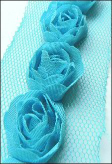 Marianne Design - Flower Ribbon: Light blue - FR1118