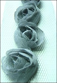 Marianne Design - Flower Ribbon: Grey - FR1122