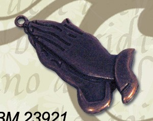CreaMotion - Embellishment - Praying hands: Copper - BM23921