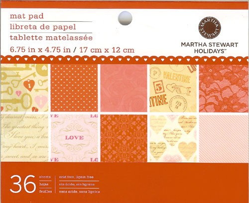 Martha Stewart - Paperpack - Key and heart - 45-04048