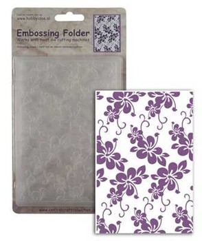 Centralcraftcollections - Embossingfolder - Bloemen - CCC-4050