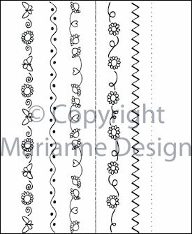Marianne Design - Don & Daisy - Clearstamp - Daisy decorations - DDS3313