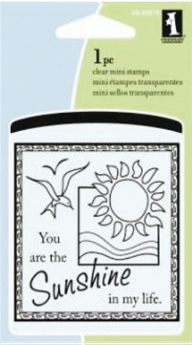 Inkadinkado - Clearstamp - Sunshine in my life mini - 60-30079