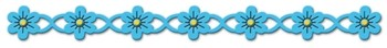 Cheery Lynn Design - Die - Flower Chain Border - B132