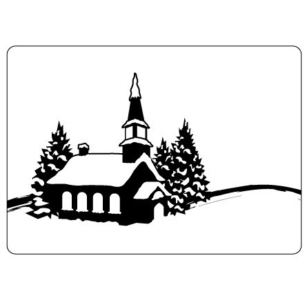 Crafts-Too - Embossingfolder - Winter village - CTFD4015