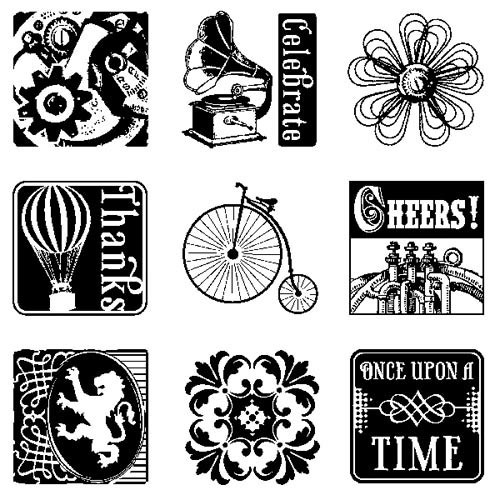 Inkadinkado - Clearstamp - Once upon a time Inchie Bundle - 60-30524