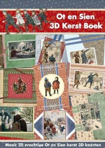 Studio Light - 3D-Kaartenboek - Ot en Sien - No. 28